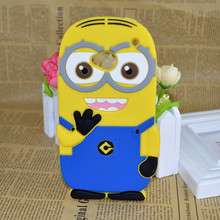 Cute 3D Cartoon DESPICABLE ME 2 Minions Silicone Case Cover For Microsoft Nokia Lumia 435 520 535 625 mickey mouse