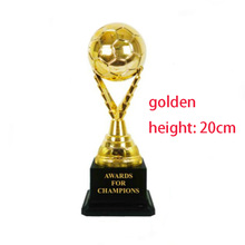 2017 New Arrival High-Grade Customizable Football Best Shooter Trophies Creative Model Souvenirs Logo Can Custom Made