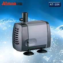 38W 2000L/h Atman AT-104 Power Liquid Filter Nano Submersible Water Sump Pump Super Silent Aquarium Fish Tank Water Filter
