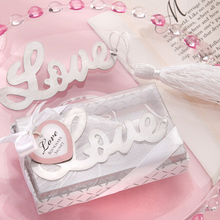 New Arrival Novelty Ducument Book Marker Label Stationery Exquisite Gift Love Note Bookmark Creative Love Silver Bookmark(China)