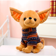 D934 Free shipping the new plush toy dog Chihuahua dog doll A dog doll girl's birthday present(China)