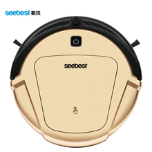 Wet/Dry Ultra Fine Air Filter Robot Vacuum Cleaner with Gyroscope Navigator System LCD Remote control Anti fall and collision