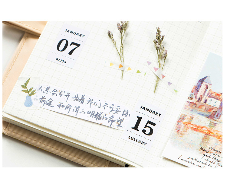 12 sheetslot creative perpetual calendar stickers diary album 12 sheetslot creative perpetual calendar stickers diary album decorative stickers flakes office school supplies stationery us319 fandeluxe Image collections