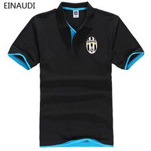 EINAUDI 2017 New Brand Juventus Mens Polo Shirt Cotton Short Sleeve Shirt For Men Camisa Polos Homme Classic Casual Polo(China)