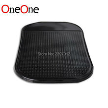 OneOne PU Gel Magic Sticky Pad Anti Slip Non Slip Mat for Mobile Cell Phone PDA mp 3 4 Car Accessories wholesale 1000pcs(China)
