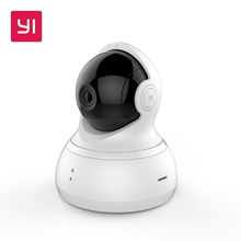 YI Dome Camera Pan/Tilt/Zoom Wireless IP Security Surveillance System HD 720p Night Vision (US / EU Edition)(China)