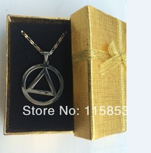 Titanium Steel Eminem Grammy Award Necklace The best RAPPER 2 colors in gift box Free shipping