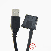 IDE Molex to USB A Male Converter 5V Power Cable Cord for Laptop Router Cooling Fan(China)