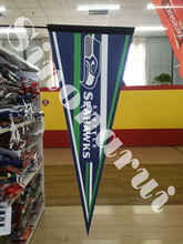 Seattle Seahawks American Football Team Hot Transfer Felt Pennats 12x 30inches(China)