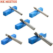 NK MIXTOS 2 Flutes HSS-AL Spiral Engraving Bits Milling Cutter, CNC Wood Router Bit, End Mills, Carving Tools Machine(China)