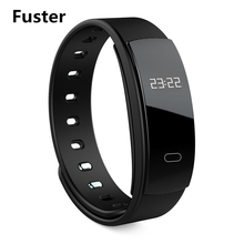 Fuster Latest Woman Fashion Sport Smart Bracelet Calories Burned Wearable Device Waterproof Wristbands for Summer Activity(China)