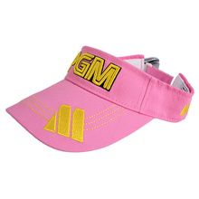 New PGM Brand Outdoor Sport 100% Cotton Solid Breathable Empty Top Snapback Golf Cap Women and Men Baseball Caps Hat 5 Colors(China)