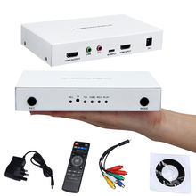 Original Genuine Ezcap291 1080P HD Video Game Capture Box HDMI/YPpbr/CVBS Recorder w/ Playback Decode For PS3 PS4 TV STB Medical