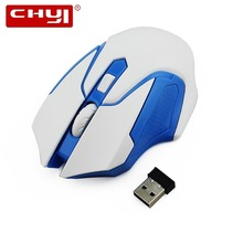 CHYI Wireless Mouse 800/1000/1600DPI Optical Gaming Mice 3D Mini Computer Mause For PC Tablet Laptop Notebook Gamer(China)