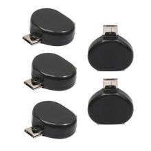 Buy 5 Pcs Mini Micro USB Male USB 2.0 Adapter OTG Converter Black Android Tablet Phone Sep24 for $1.63 in AliExpress store