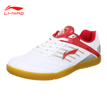 Only US Size Li-Ning Men Table Tennis Shoes Indoor Training Breathable Anti-Slippery Hard-Wearing  Sneakers Sport Shoes APTH001