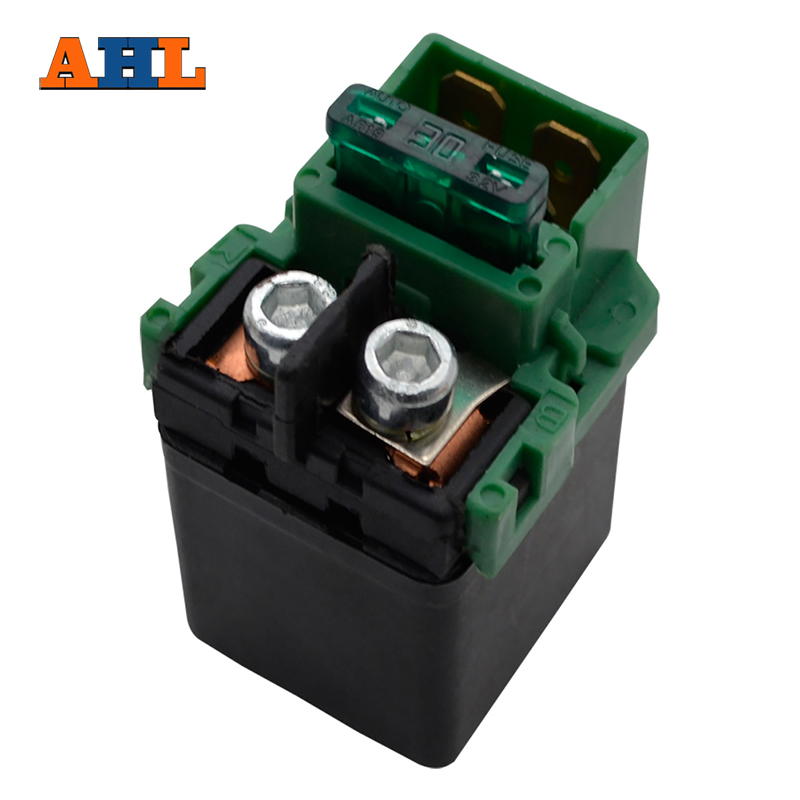 AHL Motorcycle Starter Solenoid Relay for Kawasaki ZX6J ZX6R ZZR 600 2000