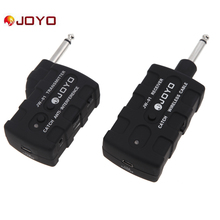 JOYO JW-01 Wireless Digital Bass Guitar Transmitter Receiver Rechargeable 2.4G Audio Stage Wireless Transmitter Receiver System(China)