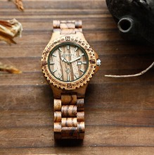 Women New 2014 Fashion Color Stripes Strap Round Case Casual Wrist Watch Antique Watches ML0589(China)
