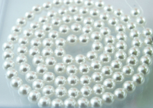 1000PCS/LOT white  8mm Imitation pearls Loose beads Acrylic Pearl Beads DIY Spacer for JewelryFree Shipping! High Quality!