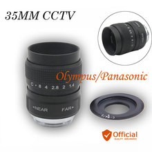 Buy FUJIAN 35mm F1.7 CCTV TV Movie lens+C Mount Olympus Panasonic Micro m4/3 GF2 GF3 GF5 GF6 GX1 GX7 G7 G5 GH4 GH2 GH3 c-m4/3 for $20.70 in AliExpress store