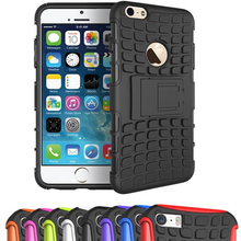 For Apple iPhone 4 4s 5 5s 6 6s 7 Plus 7Plus SE Heavy Duty Armor Shockproof Hard Rugged Rubber Case Cover Capa