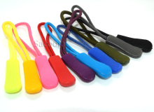 10pcs  Mix Color Zipper Pulls Cord Rope Ends Lock Zip Clip Buckle For Paracord Accessories/ Backpack/Clothing