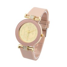 Buy New Brand Fashion Casual Gold Quartz Watch Women Crystal Silicone Watches Relogio Feminino Dress WristWatches Hot Christmas Gift for $2.91 in AliExpress store