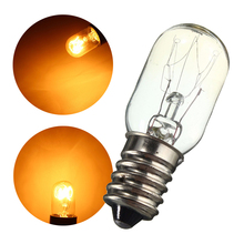 Mini Fridge Lights Edison Bulb E14 SES 15W/25W  Refrigerator Lamp Bulb Tungsten Filament Warm White Lighting AC220-230V