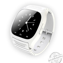 Fashion Smart Bluetooth Watch M26 with LED display / Dial / SMS Reminding / Music Player / Pedometer for Mobile Phone(China)