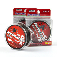 High Strength 20M Stainless Steel Fishing Wire-Red Spider Japan PE Braided Fly Fishing Line Cut Water Quickly Leader Wire(China)