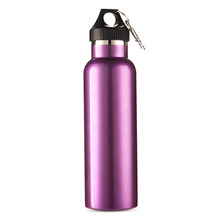 Vacuum Insulated Portable Car Canteen Camping Bottle Flask 600ml Water Bottle Hot sale
