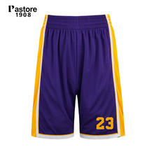 Pastore 1908 brand usa mens basketball shorts #23 Commemorative sports short europe size S-4XL custom number name newest 305B(China)