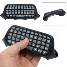 New Wireless Controller Text Messenger Keyboard Chatpad Keypad for Xbox 360 Game Controller Black With retail packaging(China)