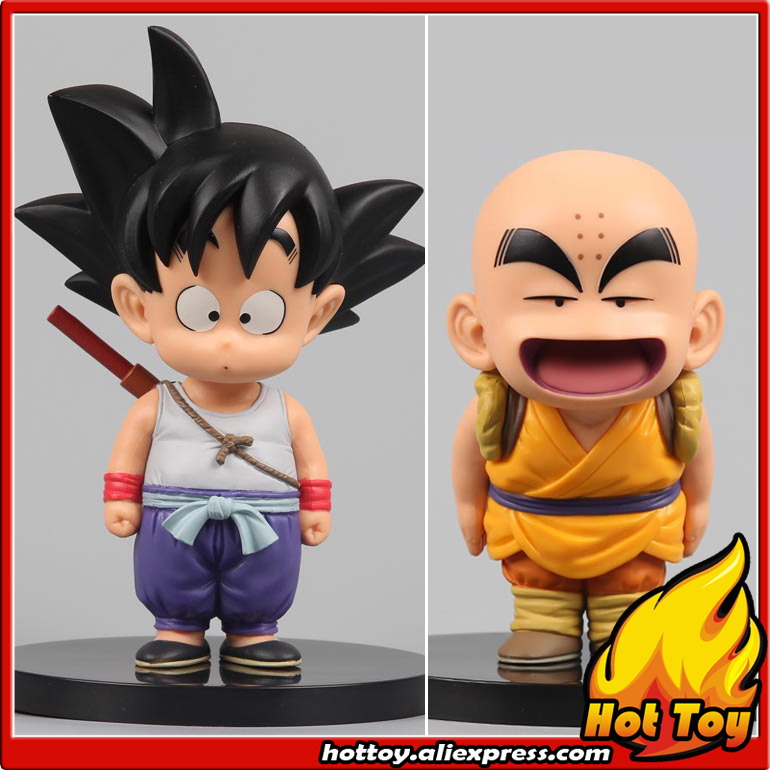 100% Original Banpresto DRAGONBALL COLLECTION Vol.1 Toy Figure - Son Goku &amp; Krillin from Dragon Ball<br>