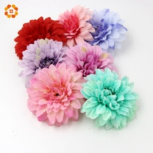 1Colorful Artificial Silk Flowers Head DIY Decoration Home Wedding Party Scrapbooking Fake - House Factory Direct Online Store store