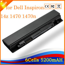 10.8V 5200mah 6cell Compatible Laptop Battery Replacement for Dell Inspiron 14z 1470 1470n 15z 1570 1570n(China)