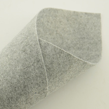 Gray Colour New Arrivals Felt Fabric 100% Nonwoven Gifts and Premiums Tradmark Handmake for Doll's DIY Tradmarks Clean Materials(China)