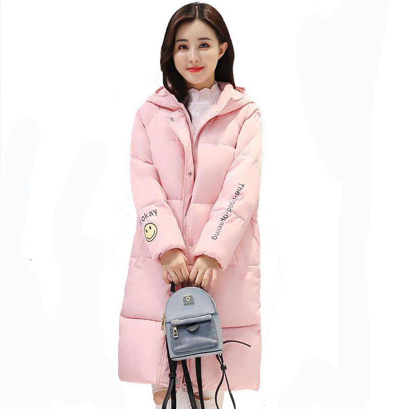 2017 Winter Jacket Women Warm Parkas Female Overcoat High Quality Long Cotton Coats 2017 Winter Hooded CoatÎäåæäà è àêñåññóàðû<br><br>