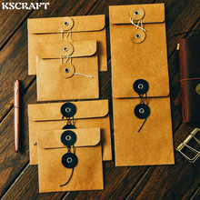 KSCRAFT Homemade Kraft Paper Bags/Storage Bags for Scrapbooking Happy Planner/Card Making/Journaling Project DIY Craft(China)