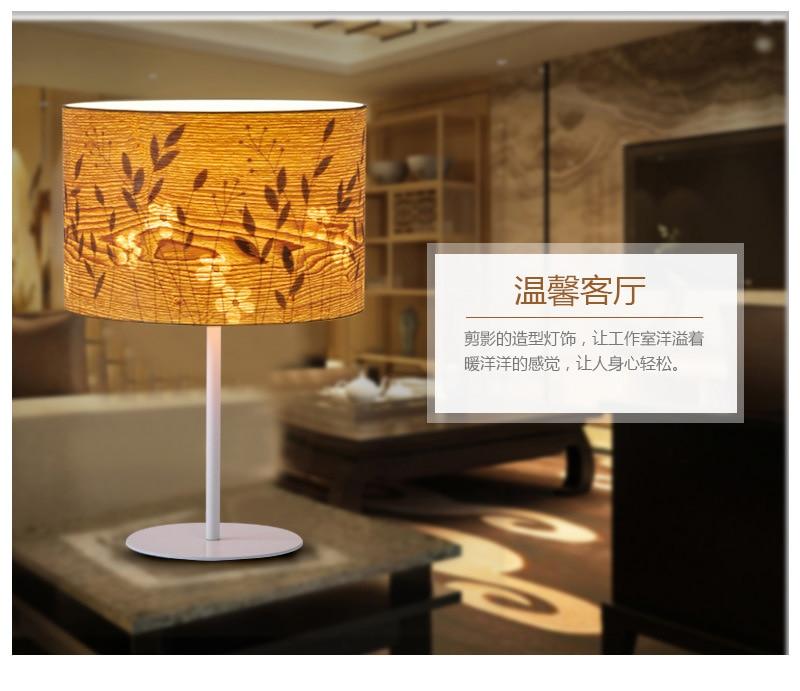wood veneer flower silhouette desk lamp _07.jpg