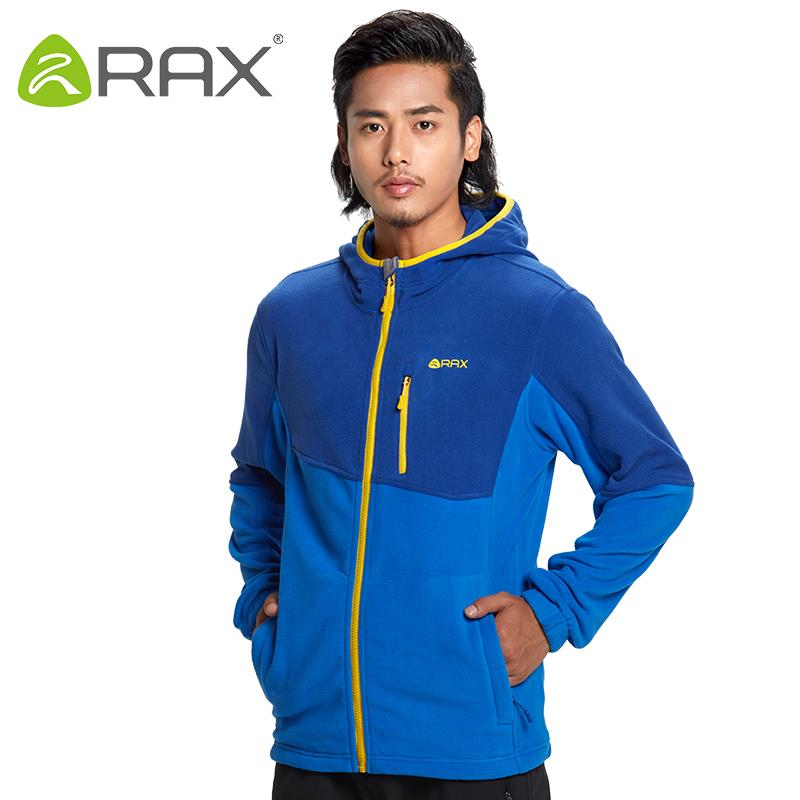 Rax Mens Fleece Jacket Brand Winter Male Outdoor Polartec Fleece Jacket Women Mountaineering Hiking Camping Hooded Jacket Men<br><br>Aliexpress