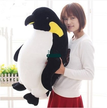 Dorimytrader 28'' / 70cm Large Plush Soft Stuffed Fat Emulational Animal Penguin Doll Nice Baby Present Free Shipping DY60259