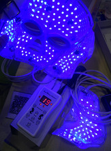 7 Color Photon Light Therapy Facial Mask Skin Care Anti-aging Personal Led Lamp Beauty Mask with Neck Care(China)