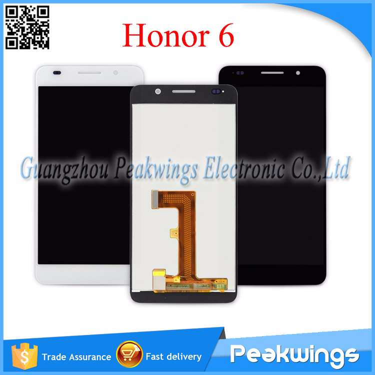 For Huawei Honor 6 LCD Display Screen +Touch Screen Assembly Replacement Black/White<br><br>Aliexpress