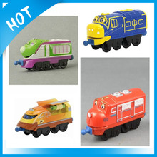 4 pcs Chuggington Metal train Tomy Educational Toys collection Action Chugger Brewster Wilson Coco Trains