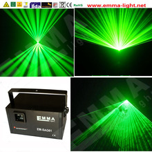 DMX+ILDA+SD+3D Multi-Functional 1w Green Laser Light /dj Lights/stage Light/ Laser Light/laser Projector