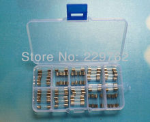 Free shipping 70pcs 5*20MM car fuse glass Electrical Fuses 0.5A 1A 2A 3A 5A 8A 15A