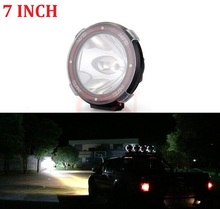2Pcs 7 Inch 55W 75w HID Work Light 12V Off Road Xenon Driving Fog Spot Light Lamp 4X4 4WD Truck ATV Offroad SUV High Quality