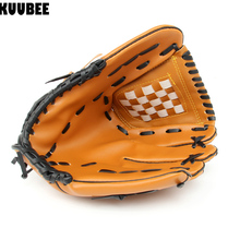 "KUUBEE Baseball Practice Gloves Left Hand PU Leather Unisex Infielder's Gloves Softball Baseball Glove 10.5"" 11.5"" 12.5"""